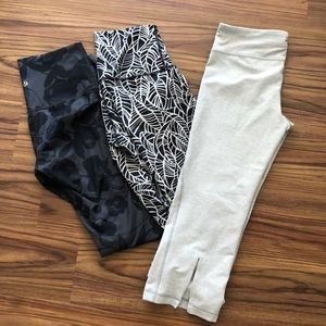 Lululemon Leggings Bundle Size 6